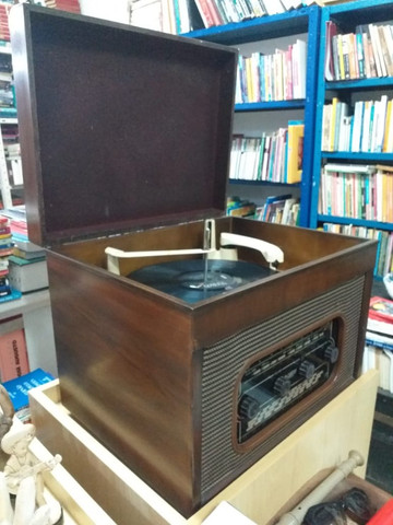 Vitrola Vintage Inglesa Maccarthy, anos 50-60 - Foto 4