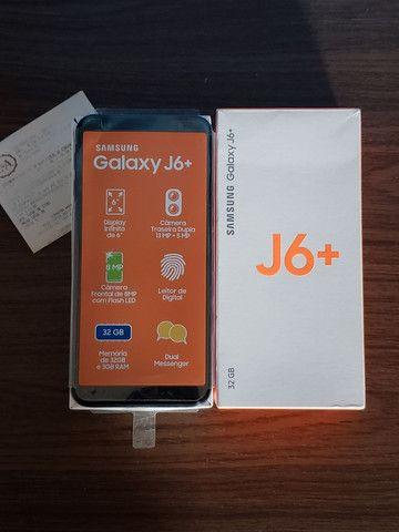 Samsung J6 Plus Prata 32Gb (SEMI-NOVO+NOTA FISCAL)  - WHATS ( 8 4 ) 9 8 8 3 8 - 8 8 8 8 - Foto 3