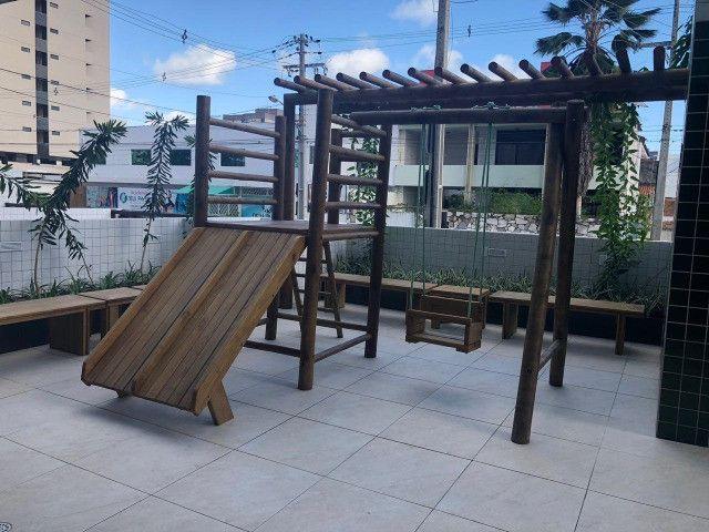 O Amplo 3/4 Varanda Novo/Pronto +DPE Com 109 m² Moderno-Melhor Localização da Jatiuca - Foto 14