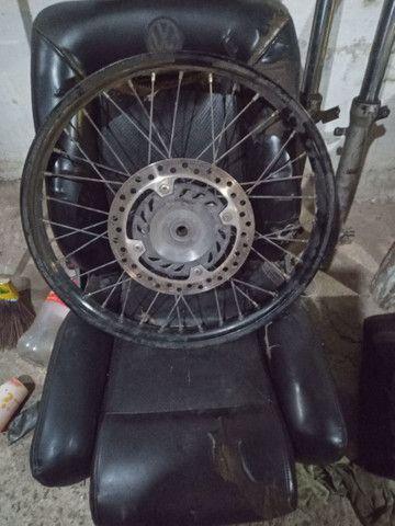 Vendo rodas de xre 300 - Foto 3