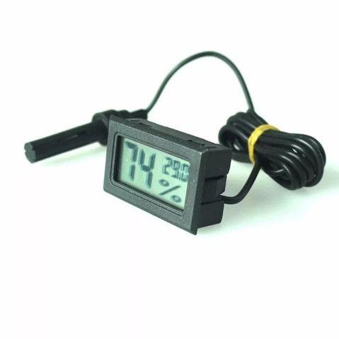 Termômetro Higrômetro Termo-higrômetro Digital Chocadeira - Foto 4