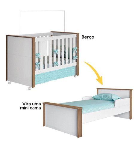 Berço (mini cama) + colchão