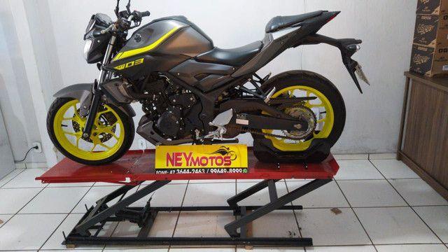 Elevador de motos de  fabrica 350 kg - zap 24horas deixe seu número  - Foto 11
