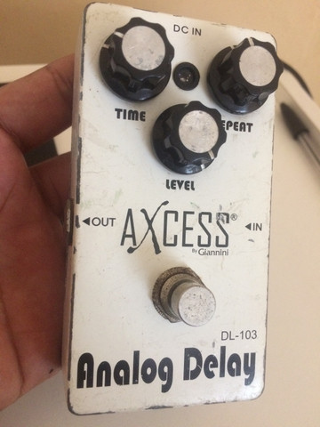 Pedal Delay Axcess (Gianini) - Foto 3