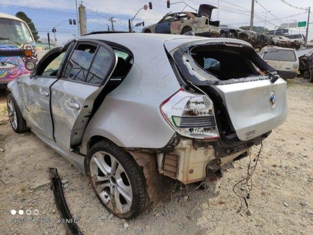 Sucata BMW 130i 24V 2011 Sport (automática) - Foto 4