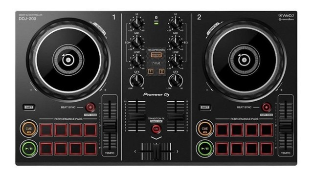 Controlador DJ Pioneer DDJ-200 - Foto 2