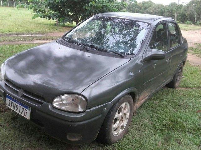 Vendo ou troco carro corsa 16V  - Foto 5
