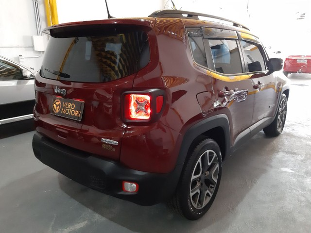 Jeep renegade longitude 1.8 - flex - automatico 2019 - 20.000 km - Foto 4