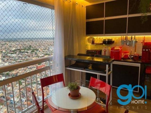 Apartamento com 3 dormitórios à venda, 78 m² por R$ 550.000 - Cremação - Belém/PA - Foto 13