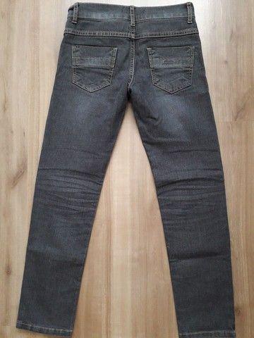 Calça jeans infantil menino tam 10 - Foto 3