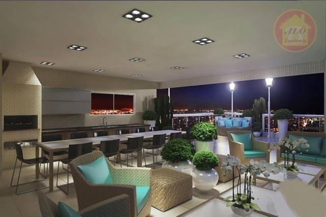 Apartamento à venda, 84 m² por R$ 370.000,00 - Tupi - Praia Grande/SP - Foto 4