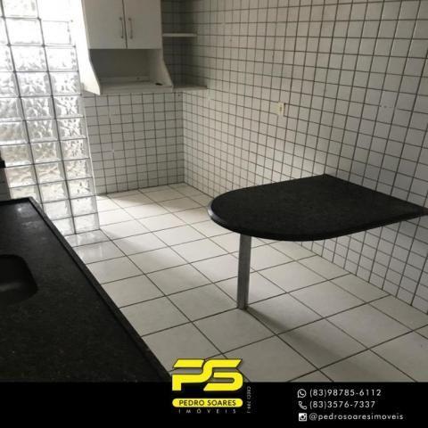 Apartamento com 3 dormitórios à venda, 90 m² por R$ 300.000 - Jardim Cidade Universitária  - Foto 6