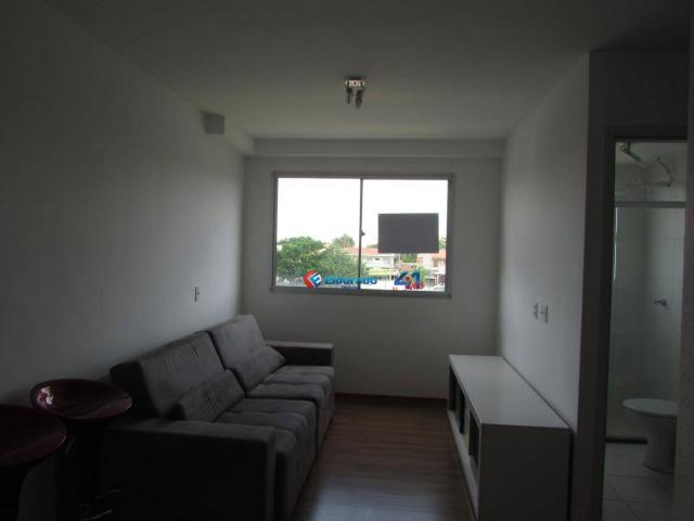 Apartamento com 2 dormitórios para alugar, 50 m² por R$ 750,00/mês - Parque Yolanda (Nova