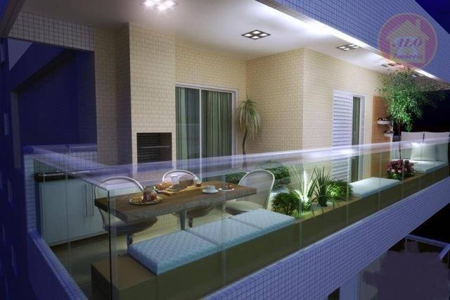 Apartamento à venda, 84 m² por R$ 370.000,00 - Tupi - Praia Grande/SP - Foto 6