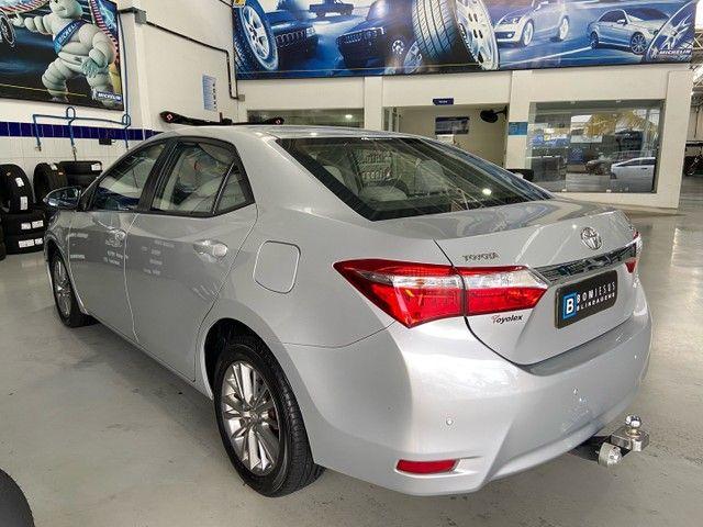 Corolla XEI 2.0 Flex aut. 2017 BLINDADO - Foto 6