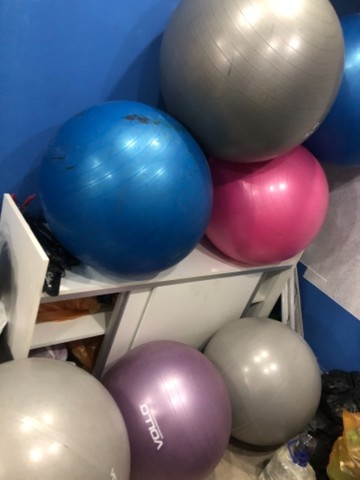 Bola de pilates nova promoção  60 reias  - Foto 3