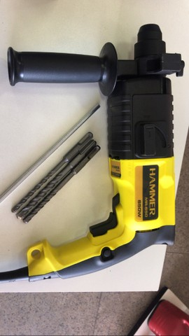 ( novo )  Martelete Perfurador Com Maleta Sds Plus 650w Hammer 220V - Foto 2