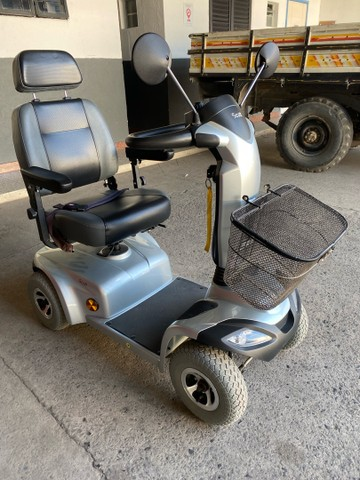 Scooter Elétrica motorizada Ottobock Scott X até 136kg - Foto 4
