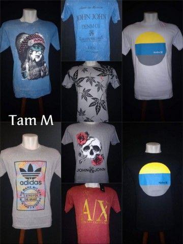 Camisetas de diversas marcas