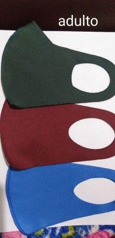 Máscaras neoprene tamanho padrão  - Foto 3