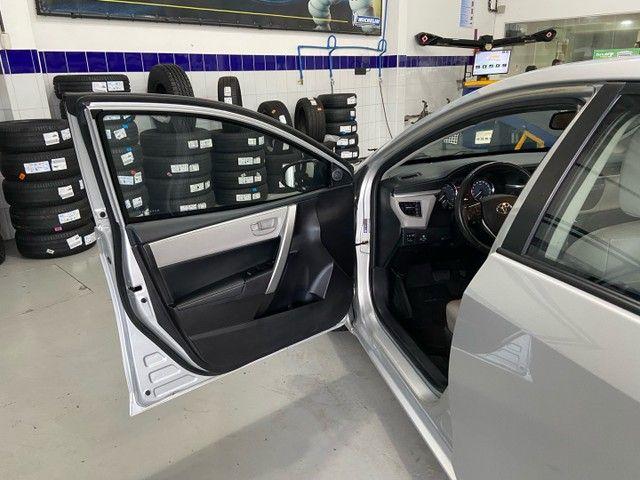 Corolla XEI 2.0 Flex aut. 2017 BLINDADO - Foto 14