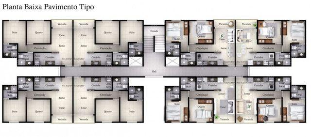 Apartamento à venda com 2 dormitórios em Paratibe, João pessoa cod:004848