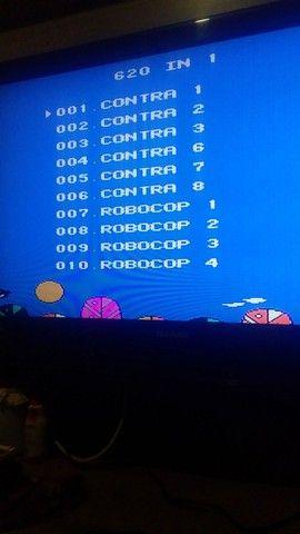 Video Game com 610 jogos