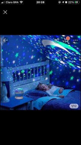 Luminária abajur giratória de céu estrelado ? - Foto 3