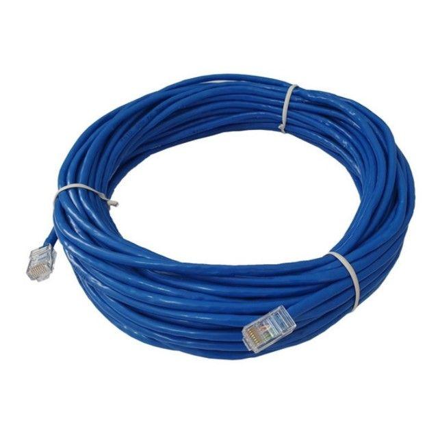 Cabo De Rede 30 Metros Ethernet Cat5 Internet Adsl Rj45 - Foto 2