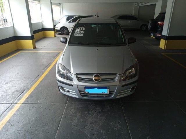 Chevrolet Celta Spirit 2011 completo com GNV.