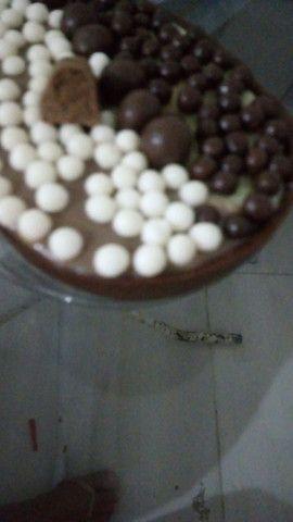 Varios tamanho de chocola venha saborea