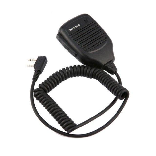 Ombro Rádio Alto-falante Microfone Para Baofeng 2 Pinos - Foto 3