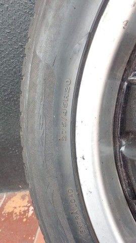 Rodas caminhonete furação 6x139 7 Kromma Slice aro 20 - Foto 6