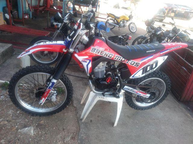 Moto para motocross
