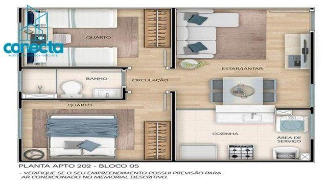 Residencial Mata dos Sabiás - 164.490,00  - Apartamentos de 2 quartos no Petrópolis - Foto 14