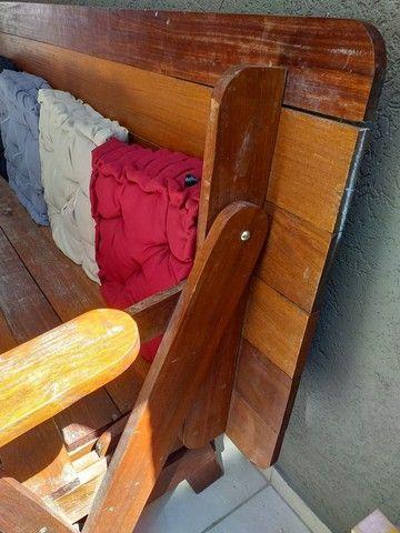 Banco para 8 pessoas madeira maciça  - Foto 2