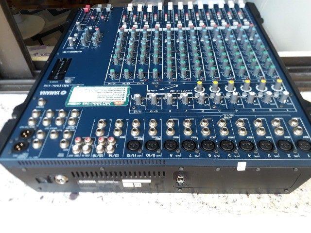 MG166C-USB Yamaha impecável parcelo no cartão/ML avalio brik - Foto 4