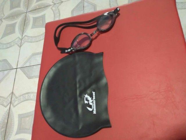 Toca e óculos de mergulho - Foto 6