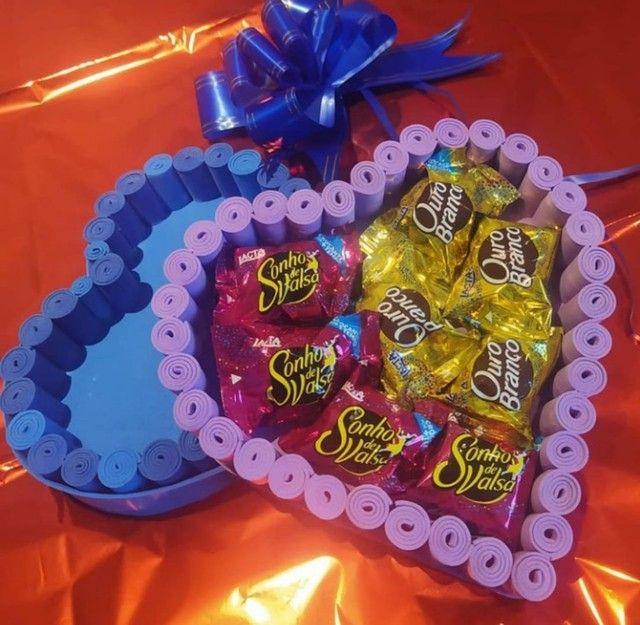 Cestas de chocolates