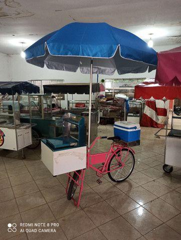 Food Bike, Carrinho de Açaí e Hot dog - Foto 5