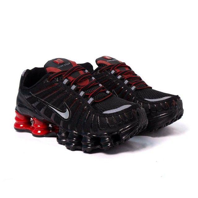 Tênis Nike Shox TLX 12 molas Refletivo  - Foto 2