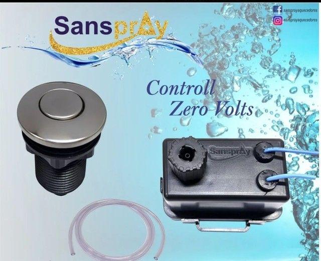 Botão Pneumático Completo Sanspray