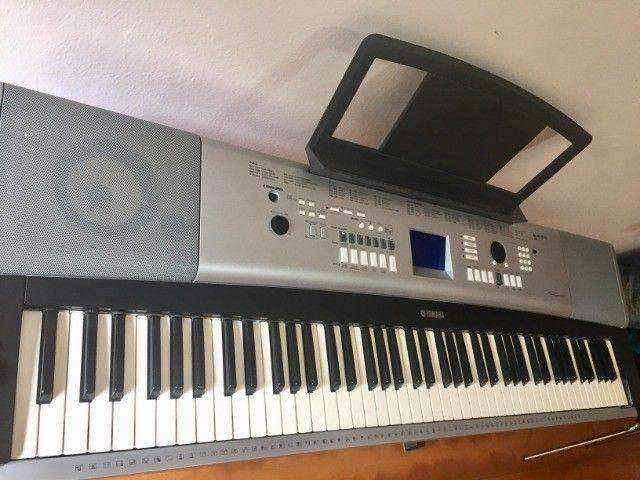 Yamaha Piano Digital DGX-520 - Completo - Foto 6