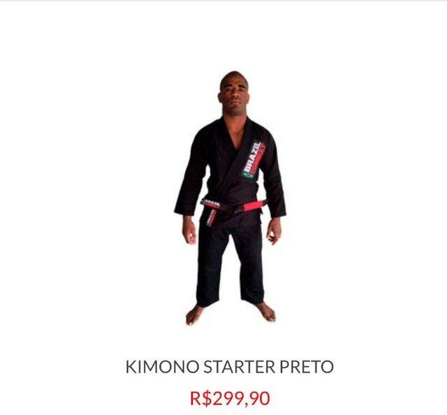 Vendo kimono A1 Preto Brazil Combat