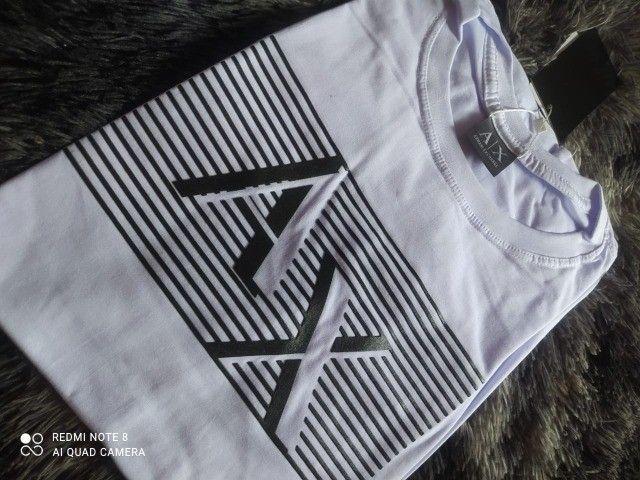 camiseta malha peruana atacado - Foto 4
