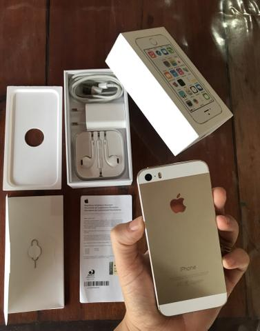 IPhone 5s de 16gb impecável completo !!