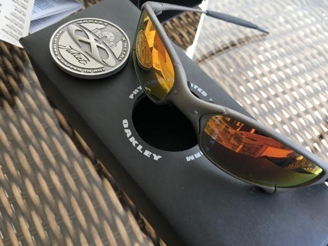 3eecb5205 Óculos Oakley Juliet Xmetal Ruby Novo Original Numerada ...