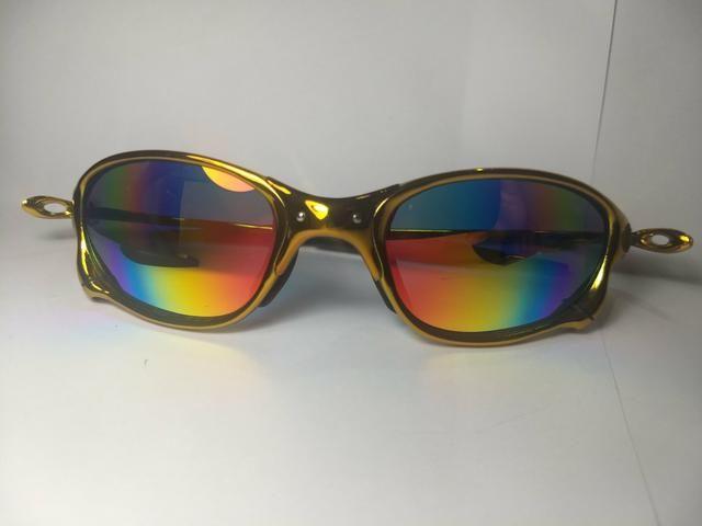 635c41cfb Óculos Oakley Juliet Polarizado Armação Alumínio - Bijouterias ...