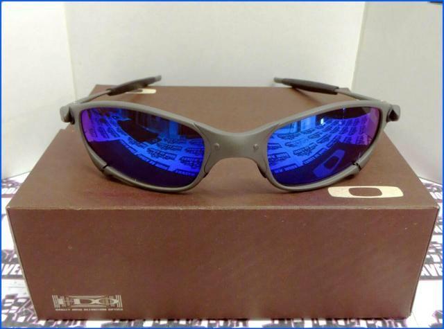 00000c283 Óculos Oakley Juliet xmetal azul Novo na caixa Frete grátis ...
