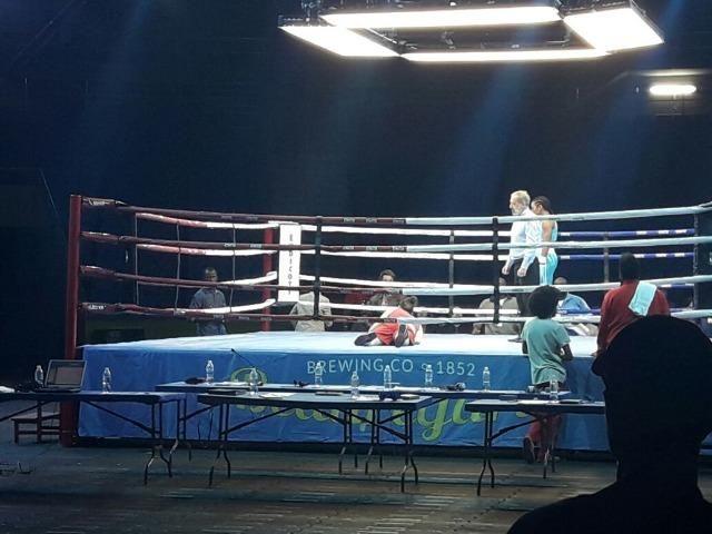 afa8e22cb Ringue de Luta 7m x 7m - Boxe e Muay Thai - Com Plataforma Elevada ...